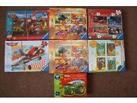 Ravensburger Puzzles Age 3-4+. 12-35 pieces. Disney Planes, Cars, Gruffalo