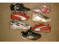 football boots (size 13 kids)