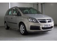2006 Vauxhall Zafira Automatic 2.2 i 16v Life 5dr, Superb Value