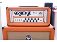 Orange AD140 Amplifier Head with Pro Flight Case owned by Faithless