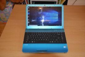 Sony Vaio 14 inch laptop - fabulous turquoise