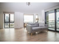 Modern & brand new 2bed 2 bath apartment in 12th floor +GYM nextto Canary Wharf & Blackwell E14 - JS