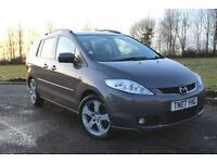 2007 MAZDA 5 2.0d SPORT 7 SEATER 5 DOOR DIESEL MPV, NOT #FORD GALAXY #VAUXHALL ZAFIRA #SHARAN