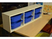 IKEA Trofast Storage Frame with Boxes