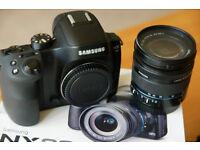 Samsung NX30 Camera and lens