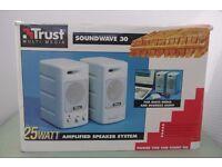 Trust Soundwave 30 - Multi media 25 watt amplified Speakers