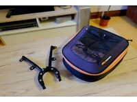 KTM 690 Powerparts Rear Bag 60012978000 with Carrier 76512927000