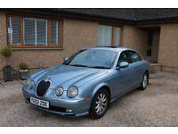 Jaguar S-Type 3.0 V6 SE 4dr - Sky Blue (Spares or Repair)