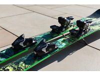 K2 Sight Skis 159cm & Salomon STH 12 Oversized Black/White 2014 Binding