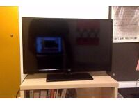 Bush 24 Inch HD Ready Smart TV With DVD Player - Black
