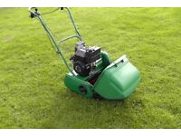 Qualcast Classic Petrol 35S - Self-propelled cylinder mower.