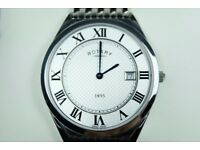 Rotary Mens Ultra Slim Dress Watch
