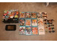 Nintendo WiiU Mario Kart 8 Premium Pack 32GB plus 15 Games and Various Accessories (Boxed as New)