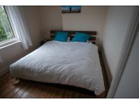 IKEA Super King sized Bed with Mattress - £100