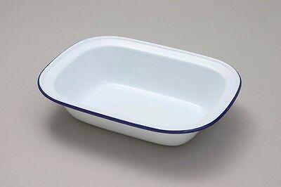 4 x Falcon Enamel 16cm Oblong Pie Dish
