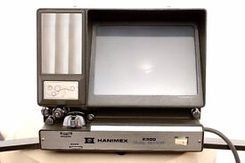 HANIMEX E300 dual 8mm movie editor / viewer very collectible