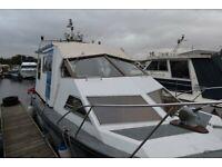 TO NAGI Beautiful canal/river boat unique custom Seamaster liveaboard