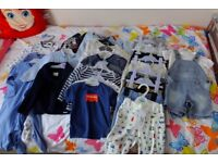Baby Boy Clothes Bundle - Age 9-12 months