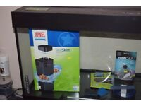 Juwell Rio 240 tank with cabinet and equipment