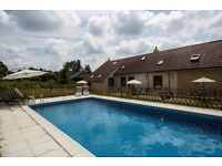 3 Luxury Holiday Homes/ Cottages/ Gites PRIVATE POOL South West France Book now 26/8/2017-2/9/2017