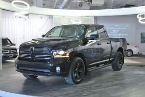 2015 Ram 1500 Sport, Only 5,000 KMs, Leather, Bluetooth