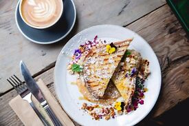 Sous Chef required for a popular kitchen/cafe in the heart of Shoreditch.