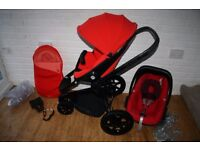 Red Revolution Quinny Moodd pushchair with extras ***can post***