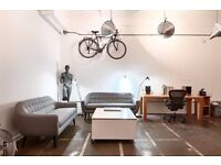 HACKNEY DOWNS STUDIOS / Red Hall: Large, ground floor studio for creative office / workshop in E8