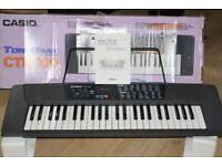 CASIO CTK-100 MANUEL/BOX/POWERADPTER/MUSICHOLDER CANBE SEENWORKING