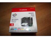 Canon PGI-2500XL multipack ink cartridges