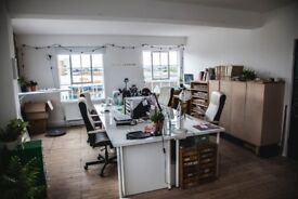 Spacious creative studio / office / workshop spaces available in Hackney Wick warehouse conversions