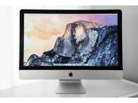 Apple iMac 21.5' 2.7Ghz i5 Quad Core 8Gb Ram 500GB HDD VectorWorks AutoCad Capture One 10 Photoshop
