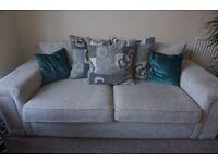 Two 3 seats sofas