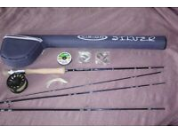 Vision Silver 9ft Fly Fishing Rig and 24 Lures