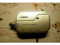 NIKKAI 2 Way Signal Booster - CHARITY SALE