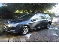 Citroen C5 Tourer 1.6Hdi VTR + Nav. Great overall condition. Reliable and economical estatecar.