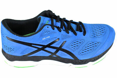 Asics 33-FA Mens Blue / Black Running Athletic Shoe Size 9 M