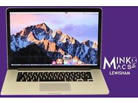 "15"" RETINA DISPLAY QUAD CORE i7 2.3GHZ APPLE MACBOOK PRO 8GB 256GB SSD PRO TOOLS CUBASE LOGIC PRO"
