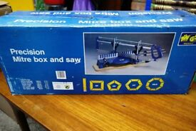 Geprufte Sicherheit Precision Mitre Box and Saw - Used Condition in Original Box