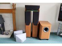 Mission Home Cinema Surround Sound 5.1 speaker set