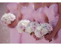 Pink Bridesmaid dresses sizes 10 12 14