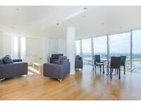 3 bedroom - 2 bathroom - 35th Floor - Available now - Furnished - Stunning Views - Close to Station