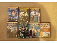 Bundle of 6 Harry Potter DVDs and Narnia Prince Caspian