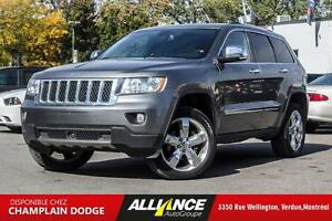2012 Jeep Grand Cherokee OVERLAND | 4X4 | CAMERA | SIEGES CHAUFF
