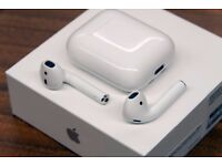 APPLE AIRPODS BRAND NEW BOXED COMES WITH 12 MONTHS APPLE WARRANTY & RECEIPT