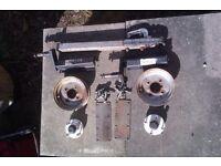 Trailer Parts - Hubs, suspension, wheels etc