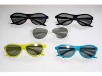 LG Cinema 3D Glasses (x5) (Multiple Colours)