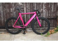 SUPER NICE Aluminium Alloy Frame Single speed road TRACK bike fixed gear racing fixie bicycle s42