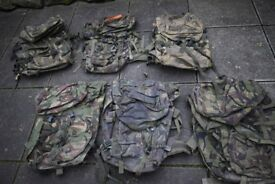 Grade2 British Army Issued DPM PLCE Bergan / Rucksacks