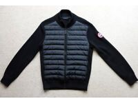 "Canada Goose Hybridge Knit Down Jacket. NEW. Small, Actual 38"". Black 6830M"